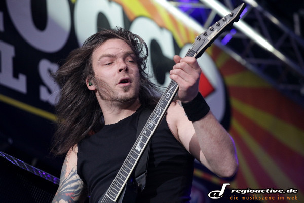 Bullet For My Valentine (live auf dem Rocco Del Schlacko Festival-Freitag 2011)