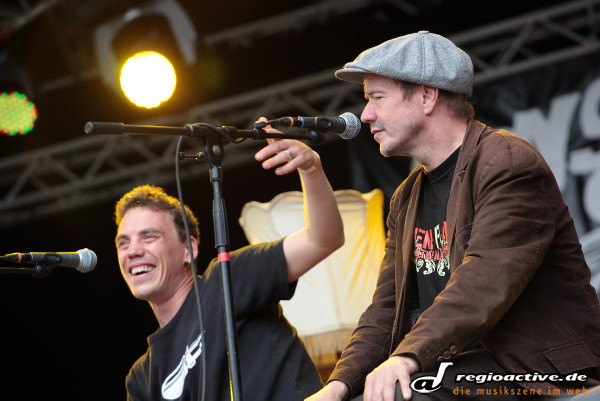 Monsters of Liedermaching (live auf dem Rocco Del Schlacko Festival-Samstag 2011)